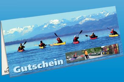 Kanu Geschenk-Gutschein für das KanuZentrum Konstanz am Bodensee
