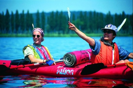 Kanu-Routenverlauf für Touren auf dem Bodensee