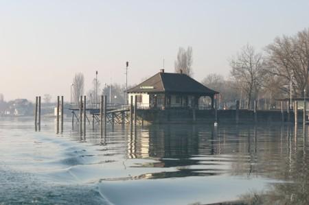 Kanustation Insel Reichenau Schiffslände