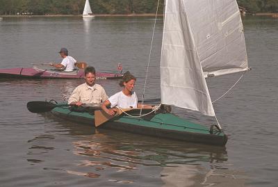 Klepper Faltboot Segel Kurs