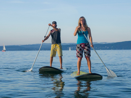 Stand-Up-Paddle Kurse auf dem Bodensee