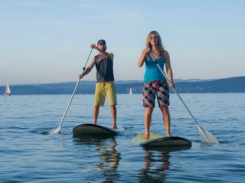 Technik und Sicherheitskurs für Stand Up Paddling auf dem Bodensee