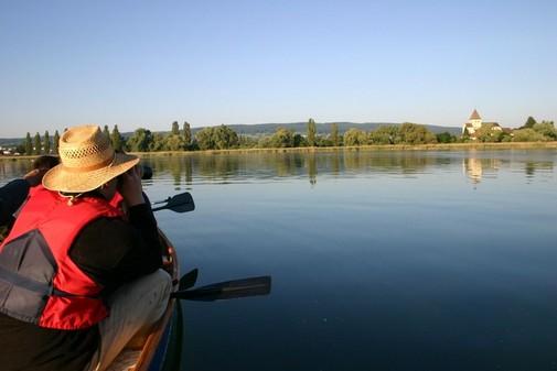 Kanutour rund um die Insel Reichenau