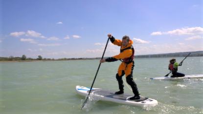 Stand Up Paddling lernen auf dem Bodensee mit dem Quickstart Kurs