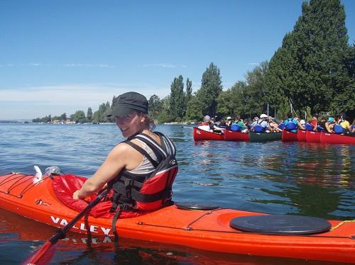 Kanu-Tourguideausbildung am Bodensee